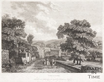 View near Bath (at Batheaston), 1785