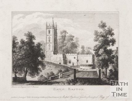 Batheaston Church, 1763