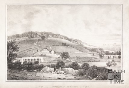 View from the Warminster New Road near Bath, c.1837