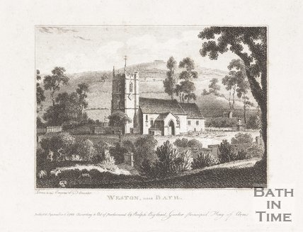 Weston Church, near Bath, 1782