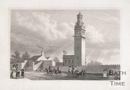 Lansdown Tower, Lansdown Hill, Near Bath, 1829