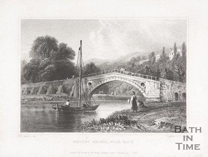 Weston Bridge, near Bath, 1830