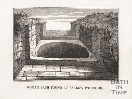 Roman Bath found at Farley, Wiltshire,