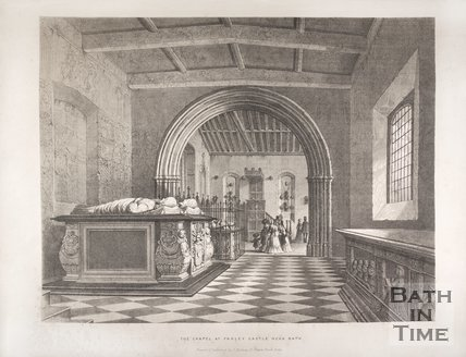The Chapel at Farley Castle near Bath,