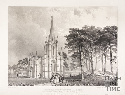 Coombe Down Church, near Bath,