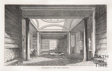Reading Room of the Royal Institution, Bath