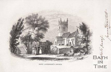 St Catherine's Church, near Bath, 1848