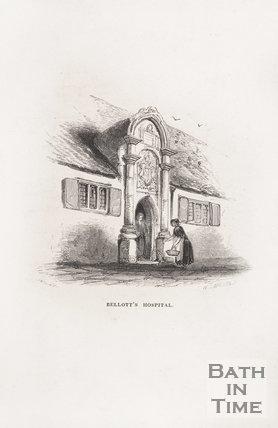 Bellott's Hospital, Bath, 1848