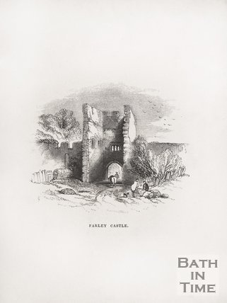 Farley Castle, Farleigh Hungerford, 1848