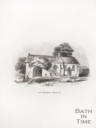 Ditteridge Church, near Bath