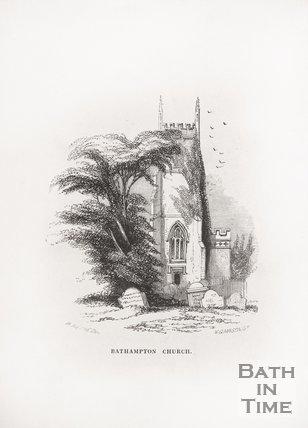 Bathampton Church, 1848