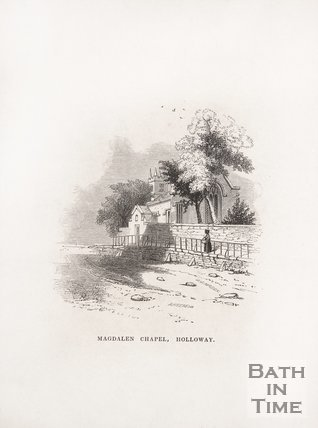 Magdalen Chapel, Holloway, Bath, 1848