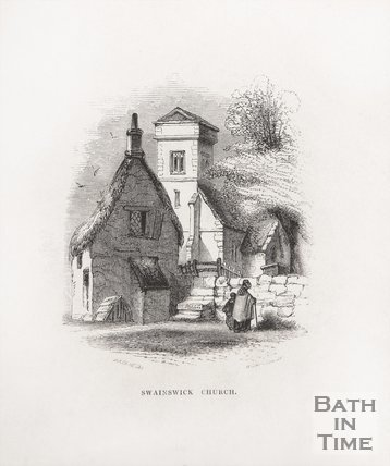 Swainswick Church, 1848
