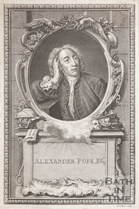 Portrait of Alexander Pope Esq