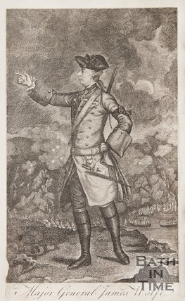 Portrait of Major James Wolfe