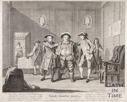 Falstaff's Cowardice Detected, 1743