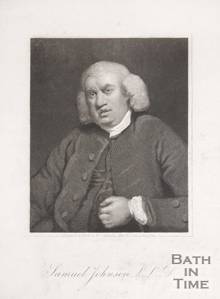 Portrait of Samuel Johnson L.L.D