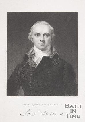 Portrait of Samuel Lysons Esq, 1833