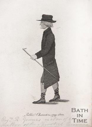Portrait of Rev R. Graves of Claverton, 1799-1800