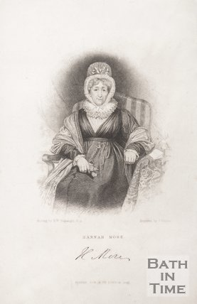 Portrait of Hannah More, 1833