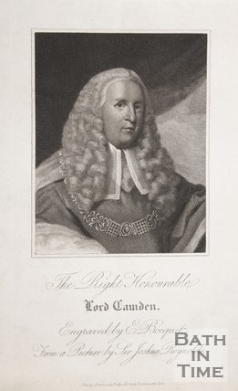 Portrait of The Right Honourable Lord Camden
