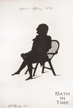 Upham's Library (a silhouette of Henry Barry), 1820