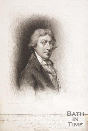 Portrait of Thomas Gainsborough Esq. R.A