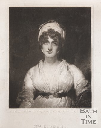 Portrait of Mrs. Sarah Siddons, 1826