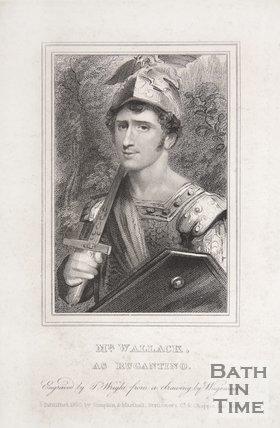 Mr Wallack as Rugantino, 1820