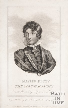 Master Betty as The Young Roscius, 1817