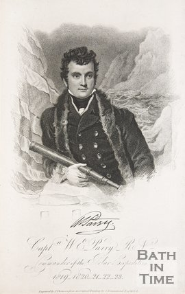 Captain W. E. Parry, Commander of the Polar Expedition 1819-1820,