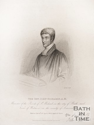 Portrait of the Rev. John Richards A.M, 1825