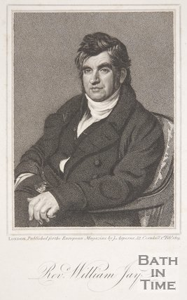 Portrait of the Revd. William. Jay, 1st February 1819,