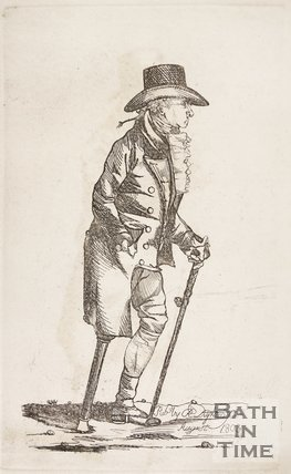 Occasional Visitor with a peg leg, 1803