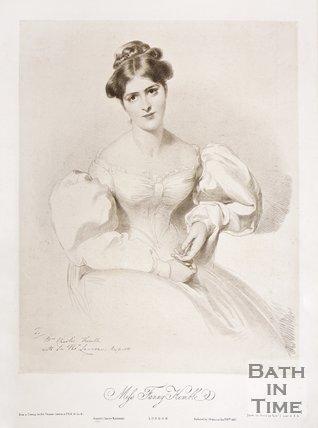 Portrait of Fanny Kemble, 1830