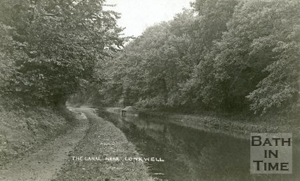 The Kennet & Avon canal near Conkwell, Bath, c.1905