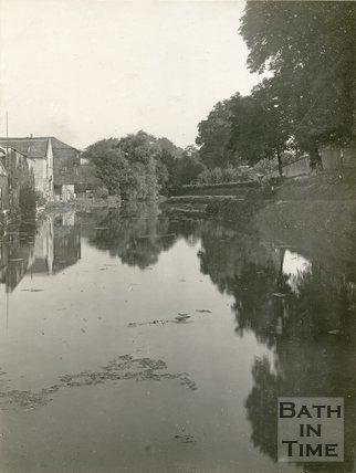 Sydney Wharf, Kennet & Avon Canal, Bath, c.1914