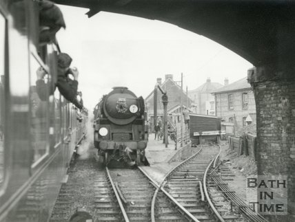 The last Somerset & Dorset train from Green Park to Bournemouth, March 5th 1966