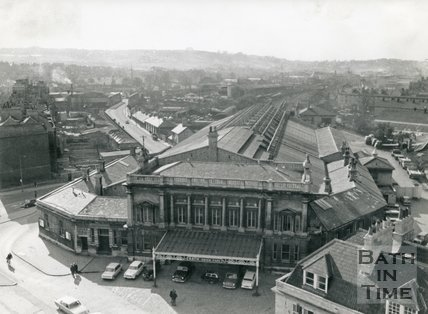Green Park Station, Bath, 1966