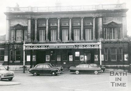 Green Park station, Bath, 1963