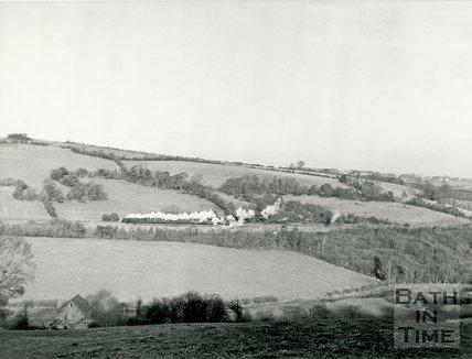 The Somerset & Dorset railway between Midford and Wellow, 11 December 1965