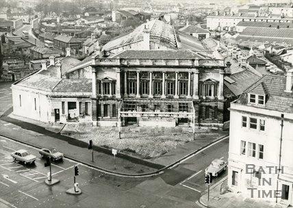 Green Park station, Bath, c.1970
