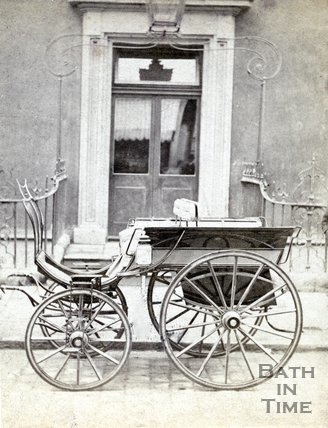 The Gadolette Phaeton, Fountain Buildings, Bath, October 29 1872