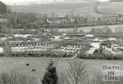 The Newbridge Park & Ride site, Bath, 1993