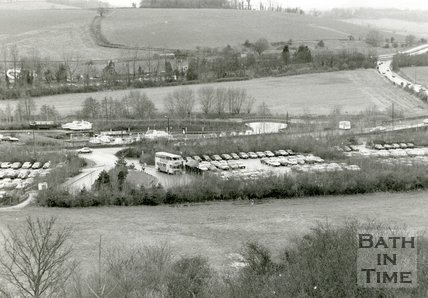 The Newbridge Park & Ride site, Bath, 1993