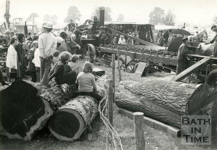 Bath Traction Engine Rally, Lansdown, 30 June 1985