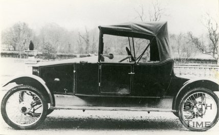 A 1915 Horstmann Car, made in Bath