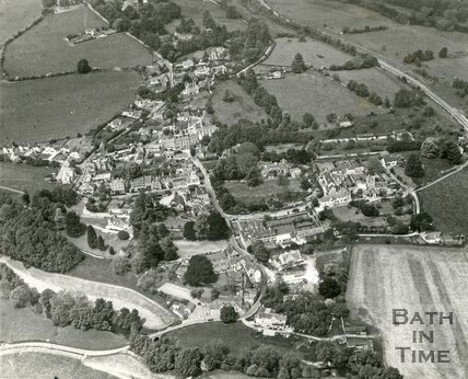 1968 Aerial view of Freshford