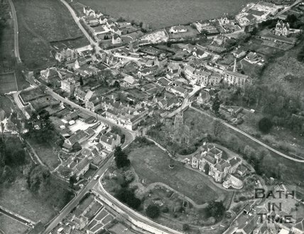 c.1972 Aerial view of Freshford