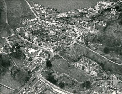 c.1972 Aerial view of Freshford